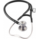MDF 797 Classic Cardiology™ Stainless Steel Dual Head - Black