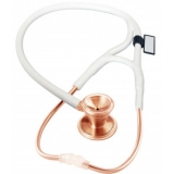 MDF 797 Classic Cardiology™ Stainless Steel Dual Head - Rose Gold