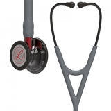 3M Littmann Cardiology IV : Grey, Black Finish with Heart - limitovaná edicia