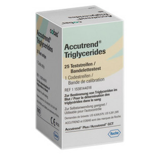Accutrend ® Plus Proužky Triglyceridy