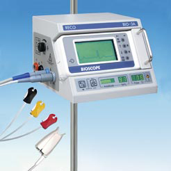 Anaesthesia monitor BIO-3A ECG and SpO2-Monitoring