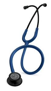 3M Littmann Classic III Navy, Black Finish